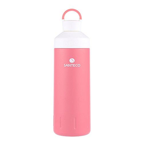 Santeco Ocean Water Bottle 20oz Leakproof Bottles Wide