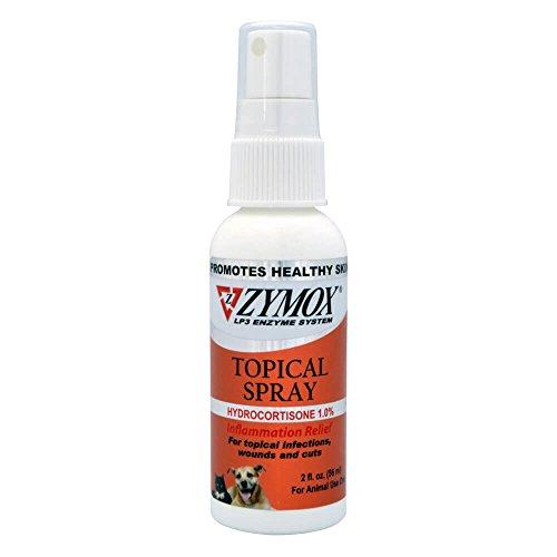 Zymox Topical Spray With Hydrocortisone 1 0 2 Fl Oz
