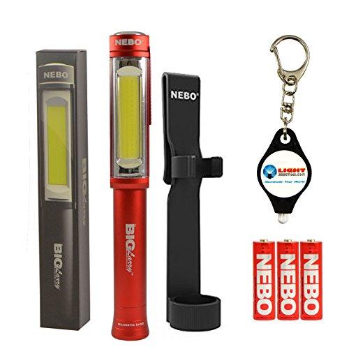 Nebo LiL Larry LED Power Pocket Light Black
